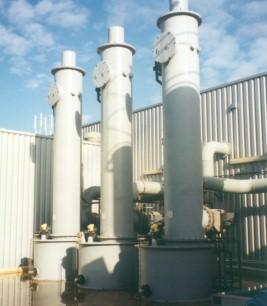 Tegenstroom gaswassers CMK Europe