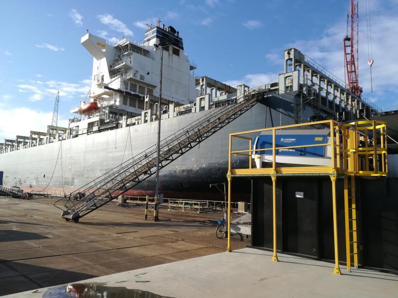 Roto-Sieve scheepswerf