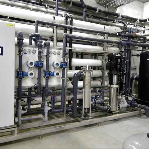 waterzuivering proceswater behandeling industrie