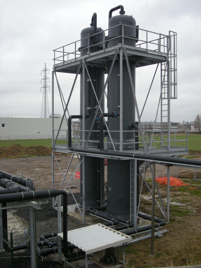 Biogasontzwaveling
